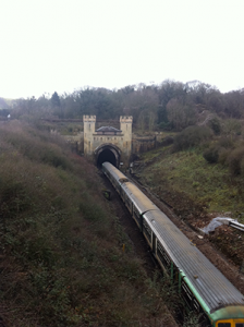 Clayton tunnel, the site of an 1861 crash
