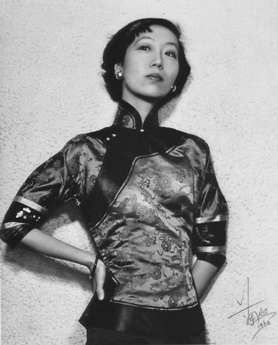 Eileen Chang in 1954