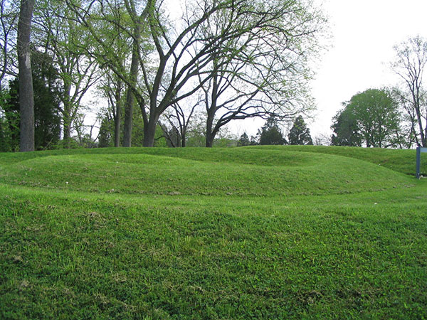Serpent Mound, tail