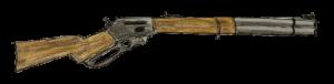 wooden shotgun