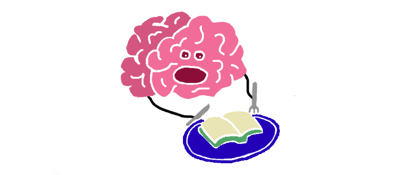 brain eating book