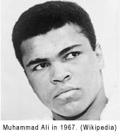 Muhammad Ali in 1967
